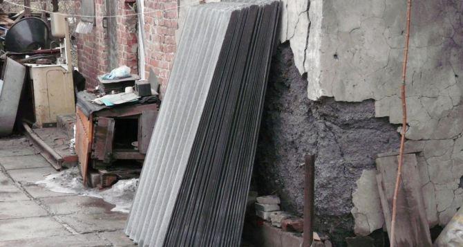 В Луганске восстанавливают более 20 домов социально незащищенных граждан (видео)