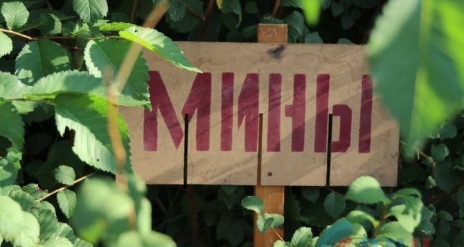 Саперы ЛНР разминировали участок железной дороги возле поселка Донецкий