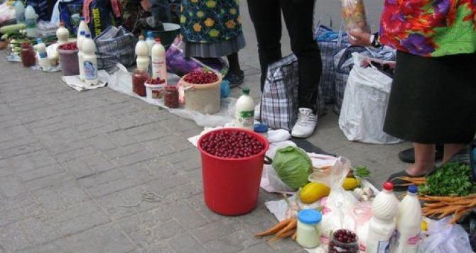 В Северодонецке продолжает работать незаконная ярмарка возле Ледового
