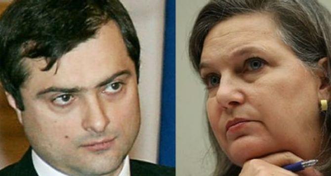 О чем говорили в Москве Нуланд и Сурков
