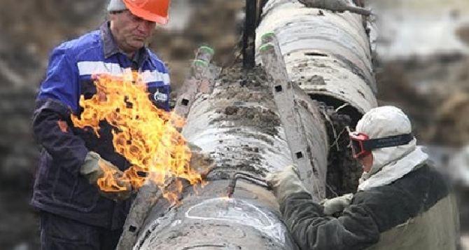 В Докучаевске в результате обстрела повреждены газопроводы