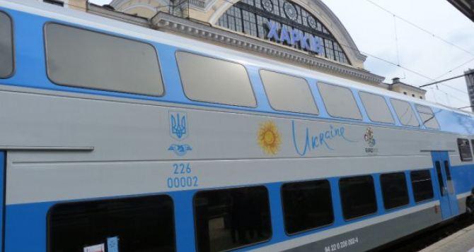 Из Харькова в Киев будет ходить двухэтажный скоростной поезд