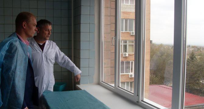 В Луганске завершается плановый ремонт клинической больницы