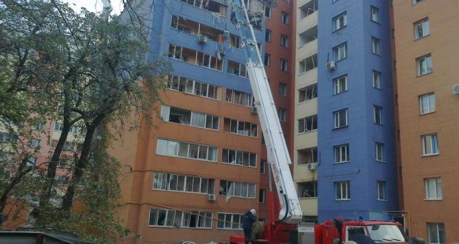 В жилом доме в Рязани произошел взрыв газа
