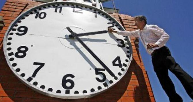 В Украине не отменяют переход на летнее время