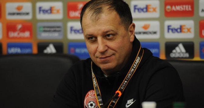 Важно не допускать детских ошибок. —Главный тренер «Зари» о матче с «Фейеноордом»