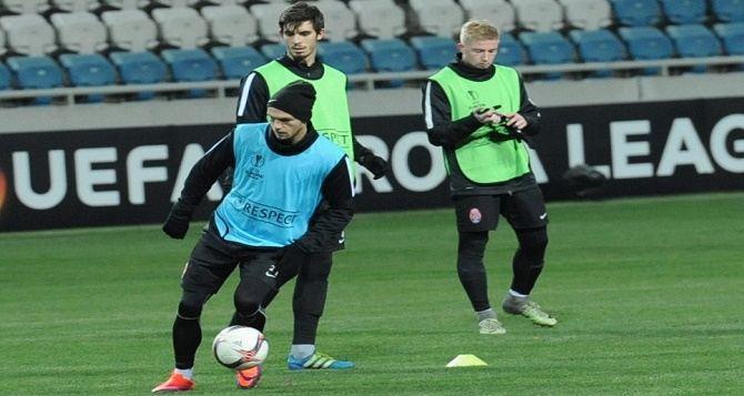 Тренировка луганской «Зари» перед игрой с «Фейеноордом» (фото)
