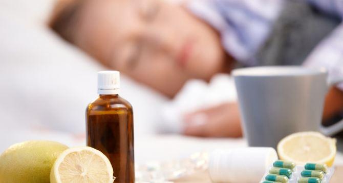 За неделю гриппом в Украине заболели больше 160 тысяч человек