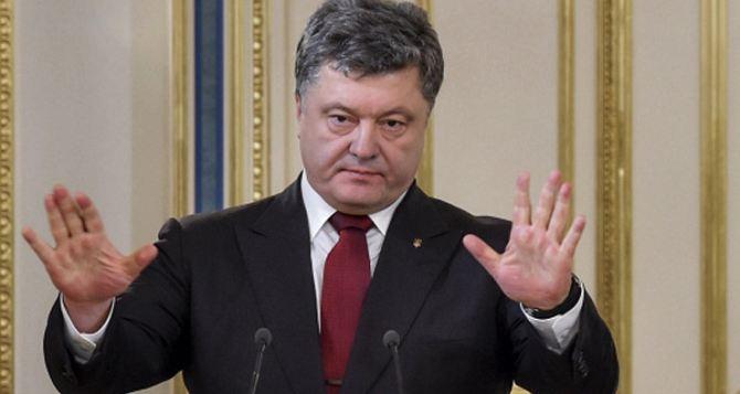 Половина украинцев недовольна работой Порошенко. —Опрос
