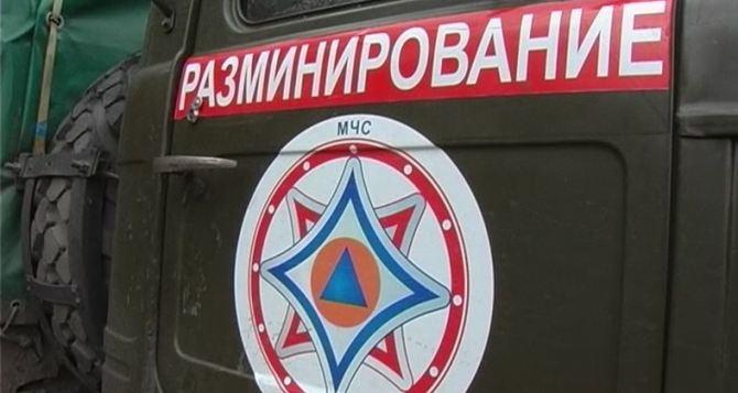 На окраине Краснодона обнаружили неуправляемую авиационную ракету (фото)