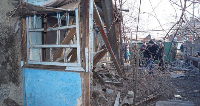 На выходных под артобстрел попали Брянка и Краснополье (фото)