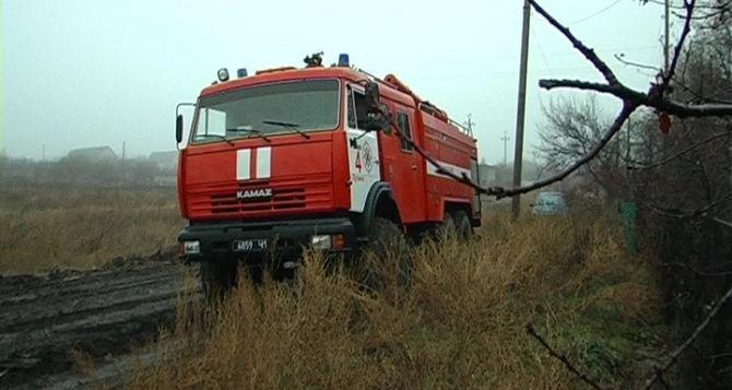 В поселке Металлист под Луганском при пожаре погибли 2 человека
