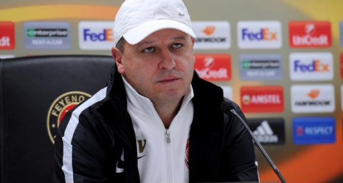 Нужно выходить и сражаться до последнего. —Главный тренер «Зари» о матче с «Фенербахче»