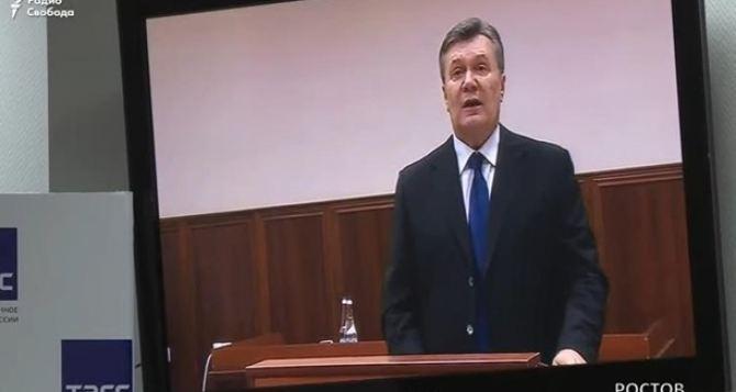 Что говорил Янукович. Основные тезисы видеодопроса