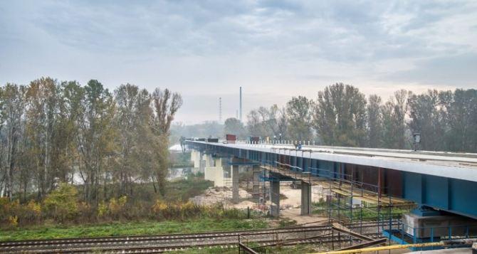Мост между Северодонецком и Лисичанском откроют 6декабря (видео)
