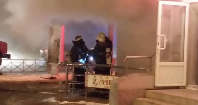 Вкафе вцентре Харькова произошел взрыв