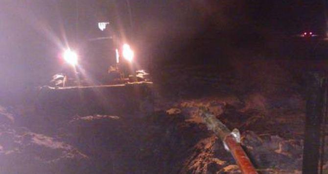 Авария на газопроводе под Харьковом. Без тепла остались более 2 тысяч абонентов
