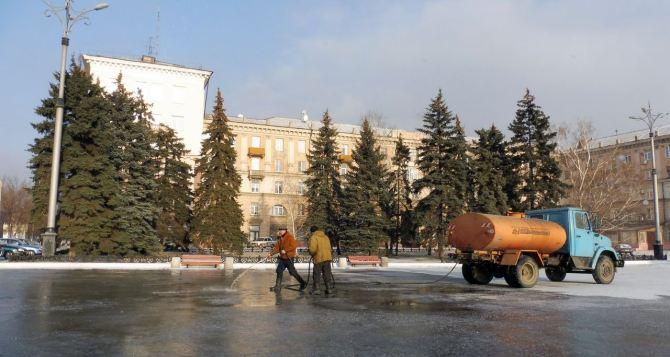 В Алчевске появится каток (фото)