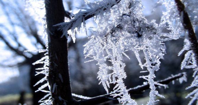 В Луганске ожидается до -23°С