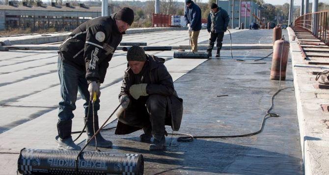 Открытие путепровода в Луганске перенесли на следующую неделю