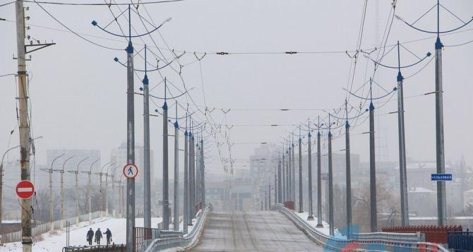 Строительство нового путепровода в Луганске обошлось в 110 млн рублей