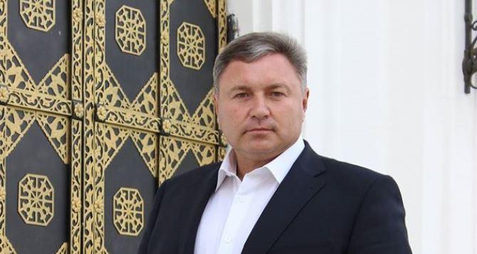 Поздравление губернатора Луганской области с Новым годом