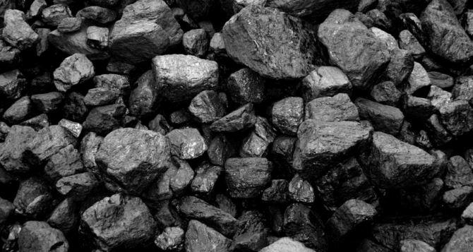 В Луганской области на 41% снизился уровень добычи угля