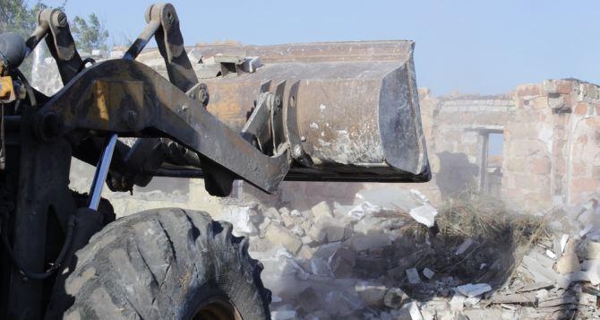 В самопровозглашенной ЛНР утвердили 315 объектов для восстановления