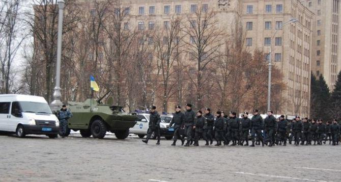 Харьковские силовики перейдут на усиленный режим работы