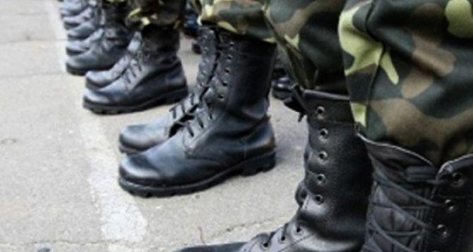 В Луганской области набрали на службу почти 2 тысячи контрактников
