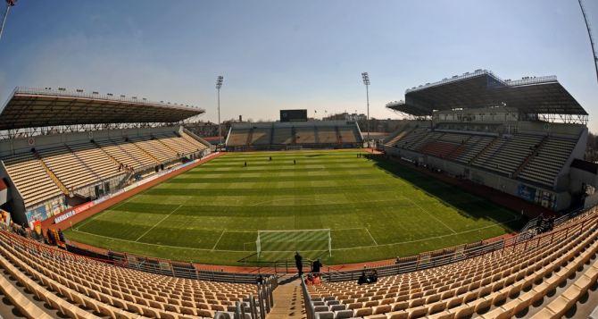 Запорожский стадион активно подготавливают к матчу «Зари» против «Динамо»