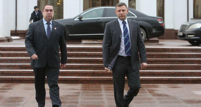 Захарченко и Плотницкий объявили о начале программы гуманитарной помощи подконтрольным Киеву территориям Донбасса