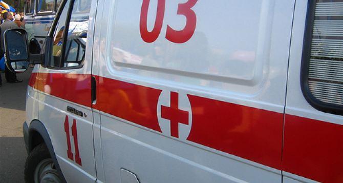 В районе блокпоста «Станица Луганская» на неизвестном предмете подорвался мужчина