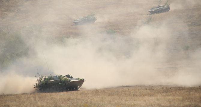 В самопровозглашенной ЛНР готовятся к отводу вооружения