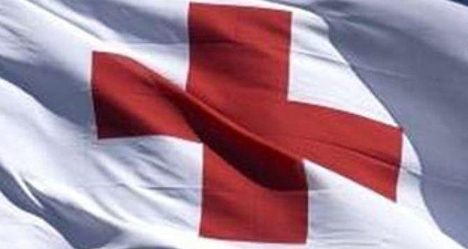 Красный Крест направил в самопровозглашенную ДНР сотни тонн продуктов