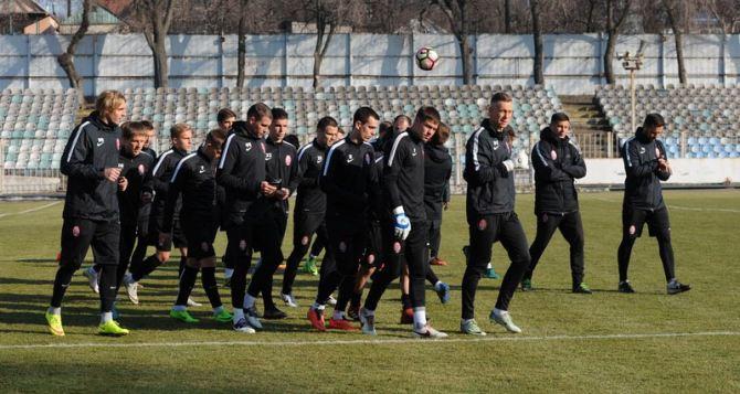 Луганская «Заря» готовится к встрече с «Шахтером» (видео)