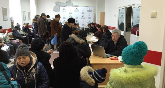 В Украине насчитали 1 миллион 600 тысяч переселенцев