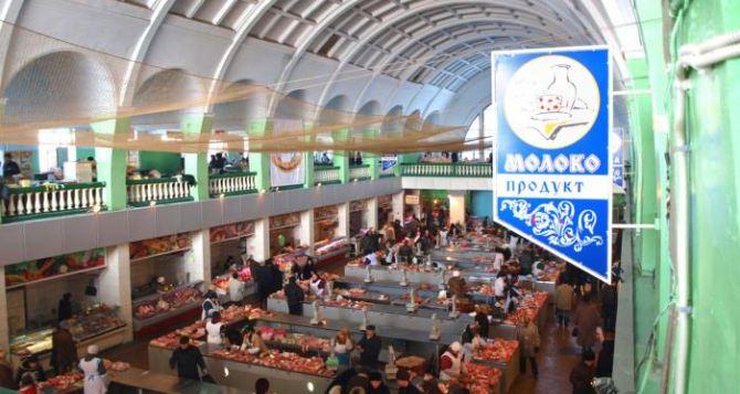 В Луганске реставрируют мясо-молочный павильон на Центральном рынке (видео)