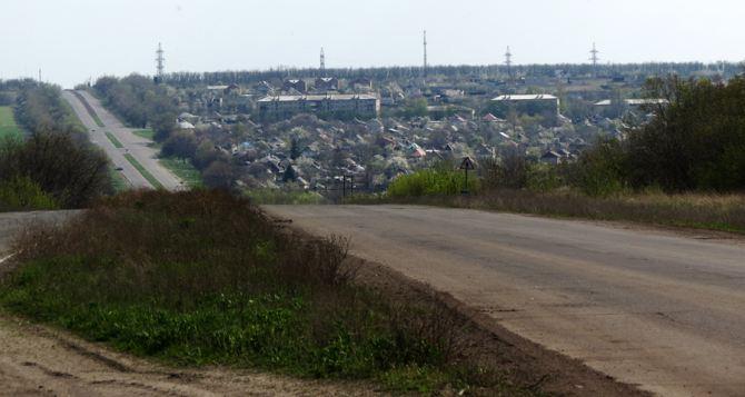 Поселок Металлист под Луганском попал под обстрел