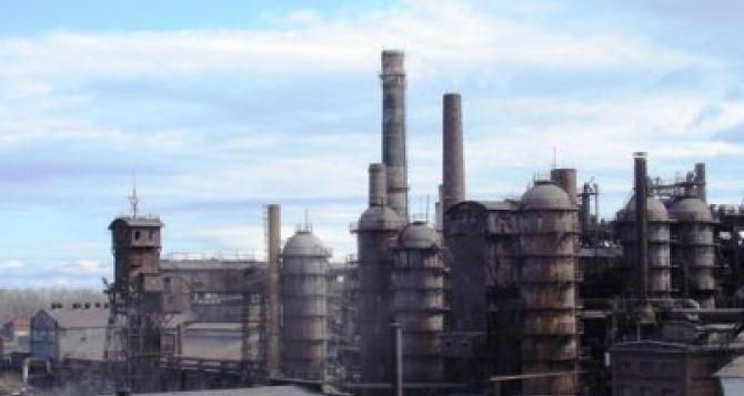 На возобновление работы Енакиевского метзавода необходимо почти 600 млн рублей в сутки