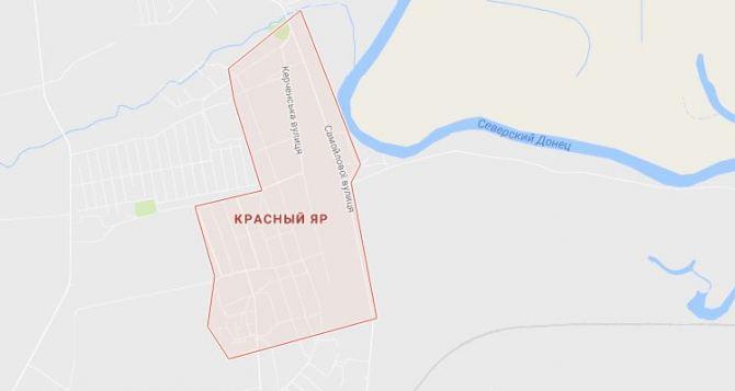 В Луганске под обстрел попали дома в Красном Яру