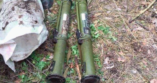 В Старобельском районе обнаружили тайник с оружием и боеприпасами (фото)