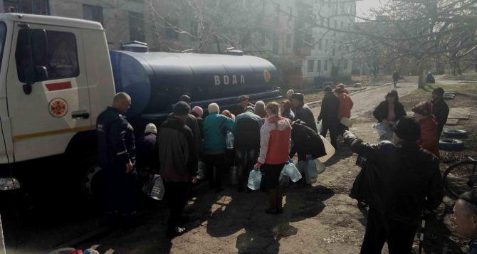 Жители села в Кременском районе остались без воды (видео)