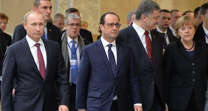 Переговоры в нормандском формате продолжатся после выборов во Франции
