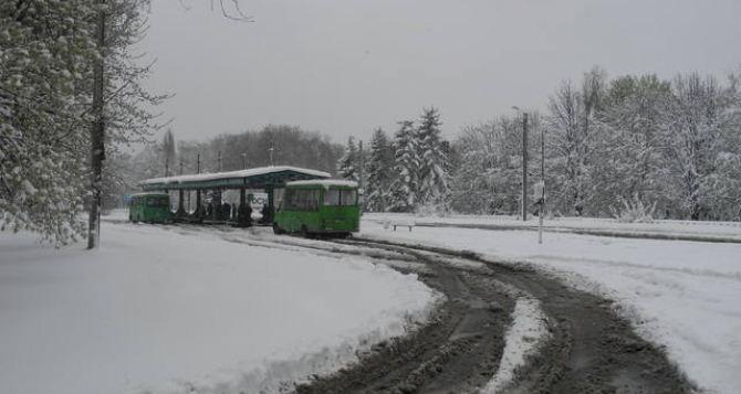 В Харькове сегодня снова будет снежно. —Прогноз