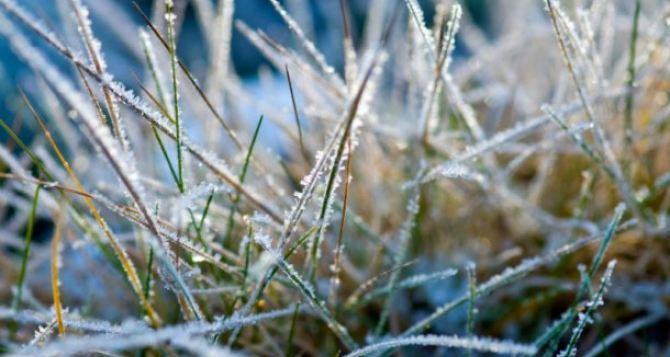 Прогноз погоды в Луганске на 25апреля: заморозки