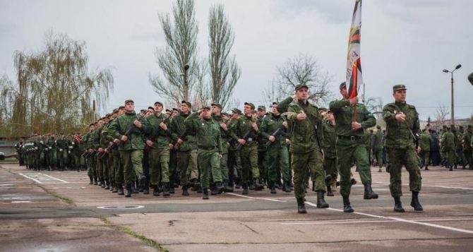 В Донецке прошла первая репетиция парада ко Дню Победы