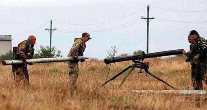Стреляли из системы Град Партизан. Ситуация на Донбассе