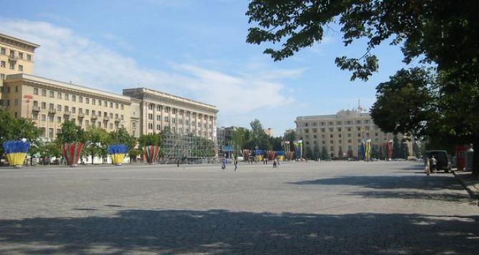 В Харькове из-за ложного заминирования эвакуировали людей с площади Свободы