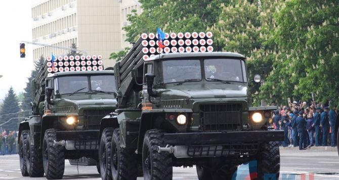 В ЛНР рассказали, куда отправилась военная техника после парада 9мая